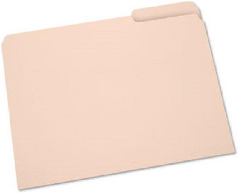 ARUN Polypropylene File Folder(Set Of 1, Beige)