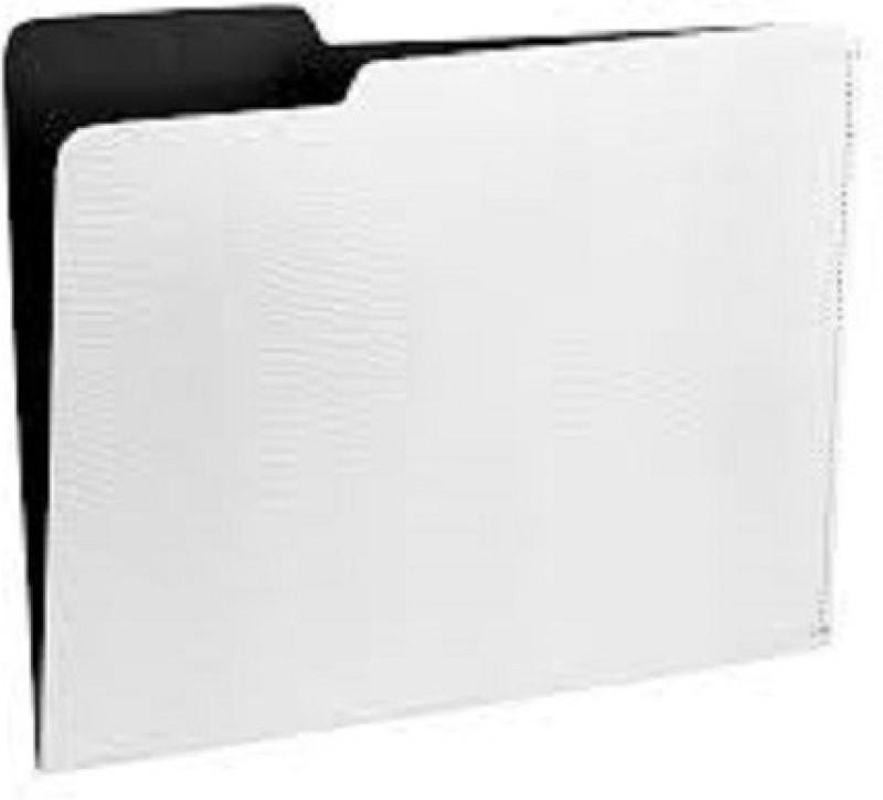 ARUN Polypropylene File Folder(Set Of 1, White)