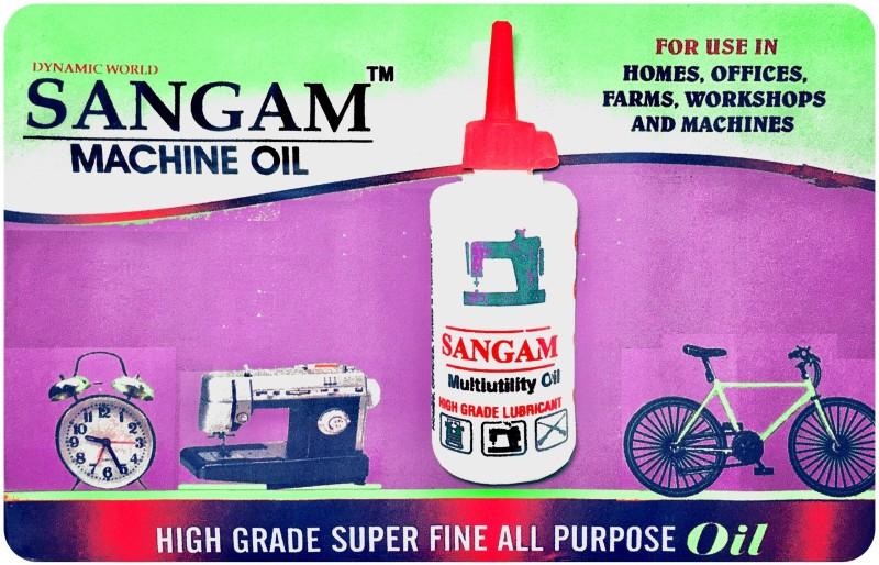DYNAMIC WORLD SANGAM MACHINE OIL(180ML) 2 BOTTLES OF 90 ML EACH 180 ml Sewing Machine Oil(Bottle)