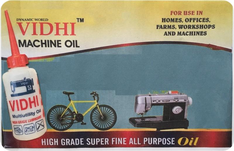 DYNAMIC WORLD VIDHI MACHINE OIL( 80 ML ) 2 BOTTLES OF 40ML 80 ml Sewing Machine Oil(Bottle)