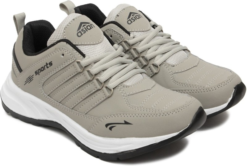 Asian Running Shoes For Men(Black, Grey)