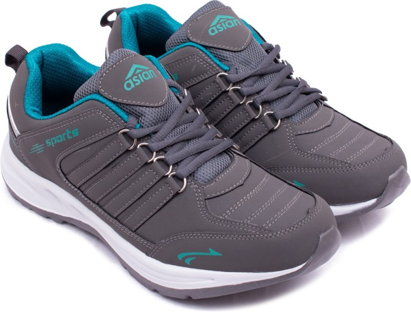 Asian Grey Green Sports Shoes,Running Shoes,Walking Shoes,Training Shoes, Running Shoes For Men(Grey)
