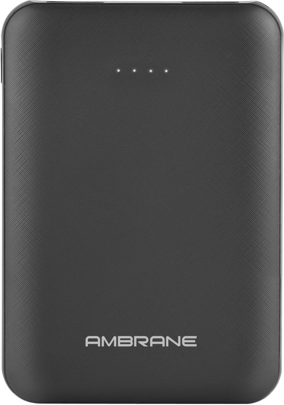Ambrane 5000 mAh Power Bank (PP-501)(Black, Lithium Polymer)
