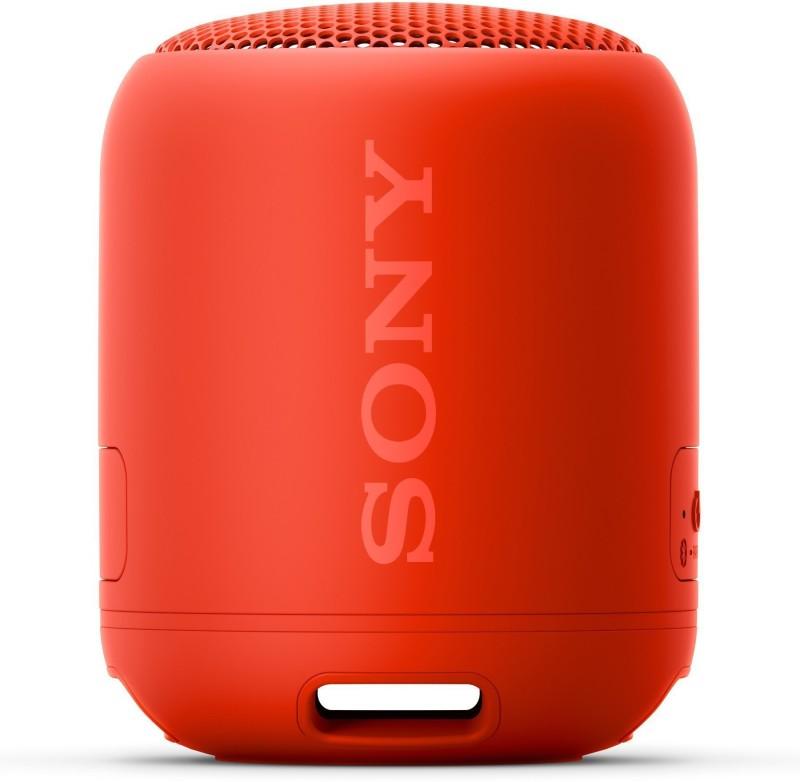Sony SRS-XB12 10 W Bluetooth Speaker(Red, Mono Channel)