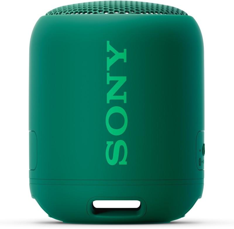 Sony SRS-XB12 10 W Bluetooth Speaker(Green, Mono Channel)