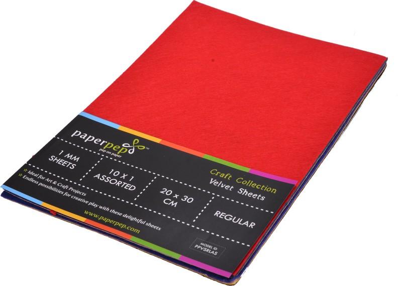 Paper Pep Velvet Sheets Regular 30 cm Acrylic Sheet(0.5 cm)