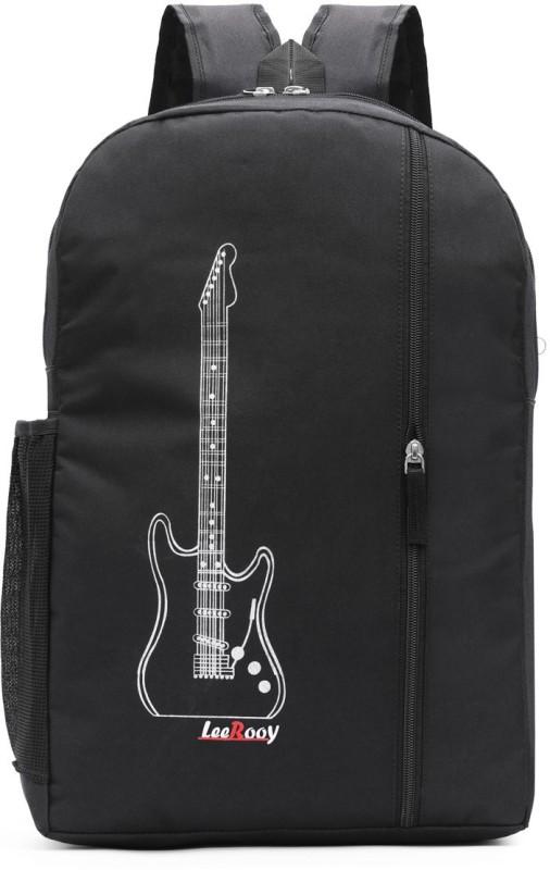 LeeRooy MN- BG23 BLK-8 20 L Backpack(White, Black)