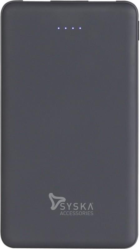 Syska 10000 mAh Power Bank (12 W)(Blue, Lithium Polymer)