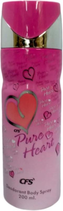 CFS Pure Heart Deodorant Body Spray 200ml Deodorant Spray - For Girls(200 ml)