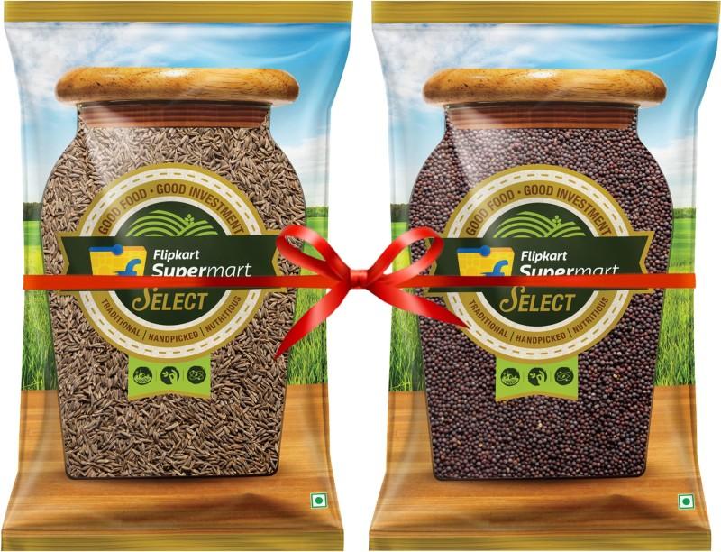 Flipkart Supermart Select Cumin and Mustard Combo(200 g, 200 g)