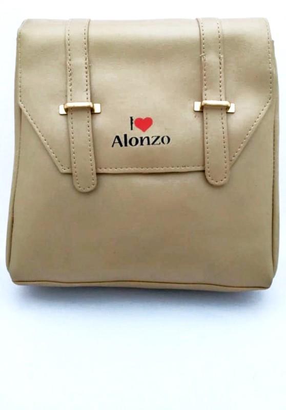 LADY HOUSE Women Beige Messenger Bag