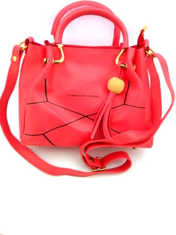 LADY HOUSE Women Pink Messenger Bag