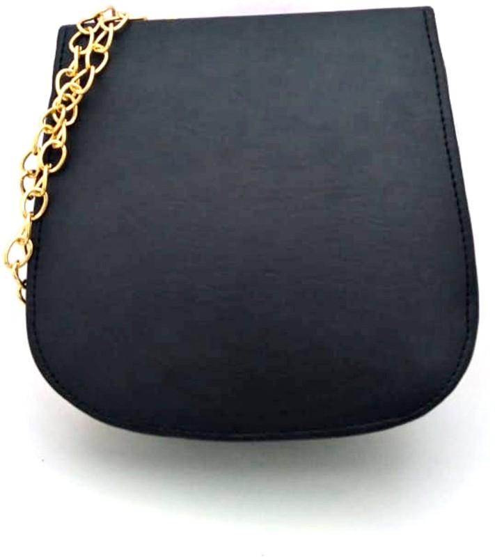LADY HOUSE Women Black Messenger Bag