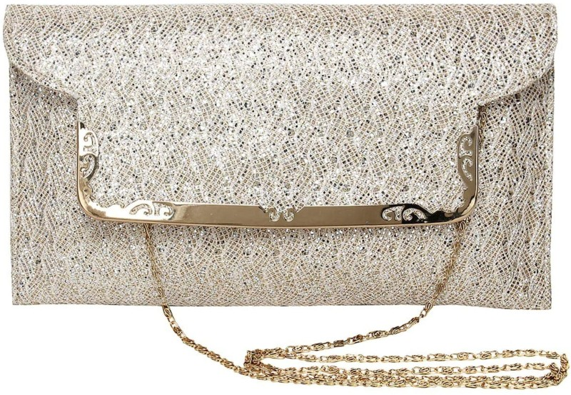 LADY HOUSE Women Silver Sling Bag