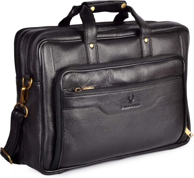WildHorn 15 inch Laptop Messenger Bag(Black)
