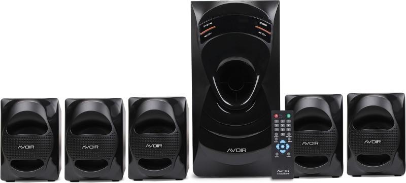 Intex AVOIR IT-5060 60 W Home Audio Speaker(Black, 5.1 Channel)