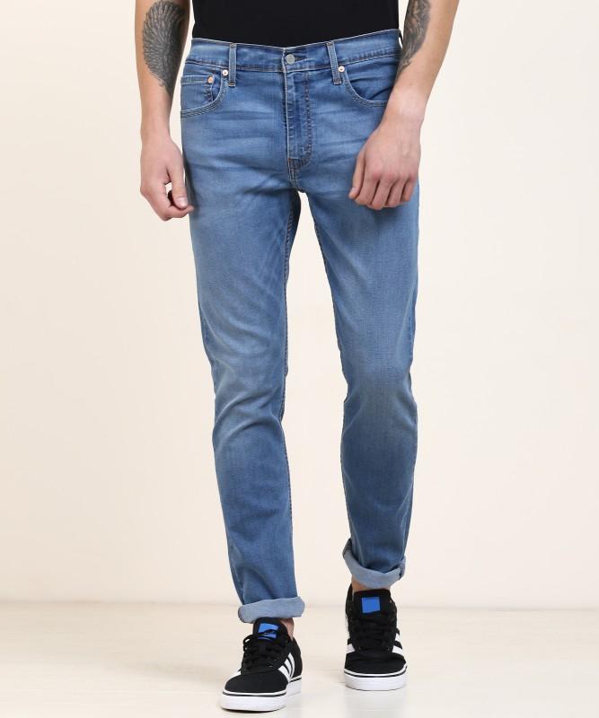 Levi's Tapered Fit Men Blue Jeans