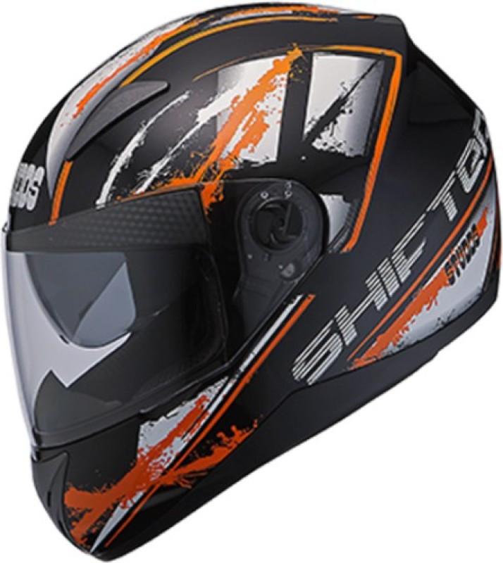 Studds Shifter D5 N10 Motorbike Helmet(Black)