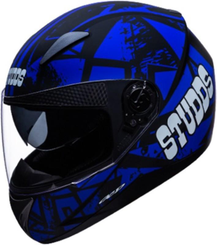 Studds Shifter D4 N1 Motorbike Helmet(Matt Black)