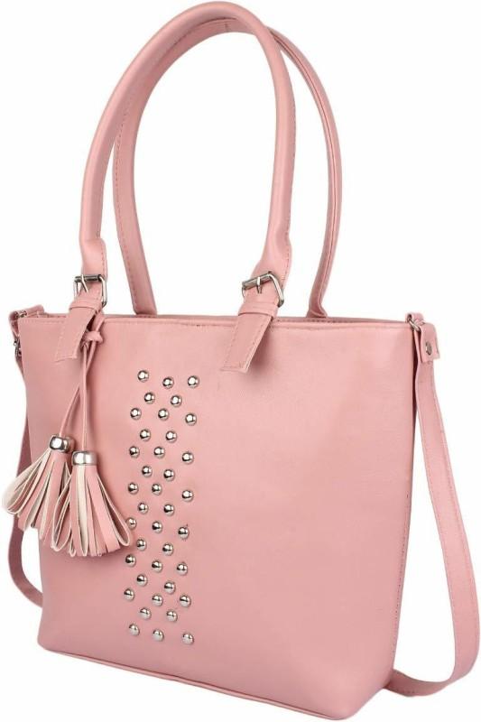 HZB Collection Women Pink Handbag