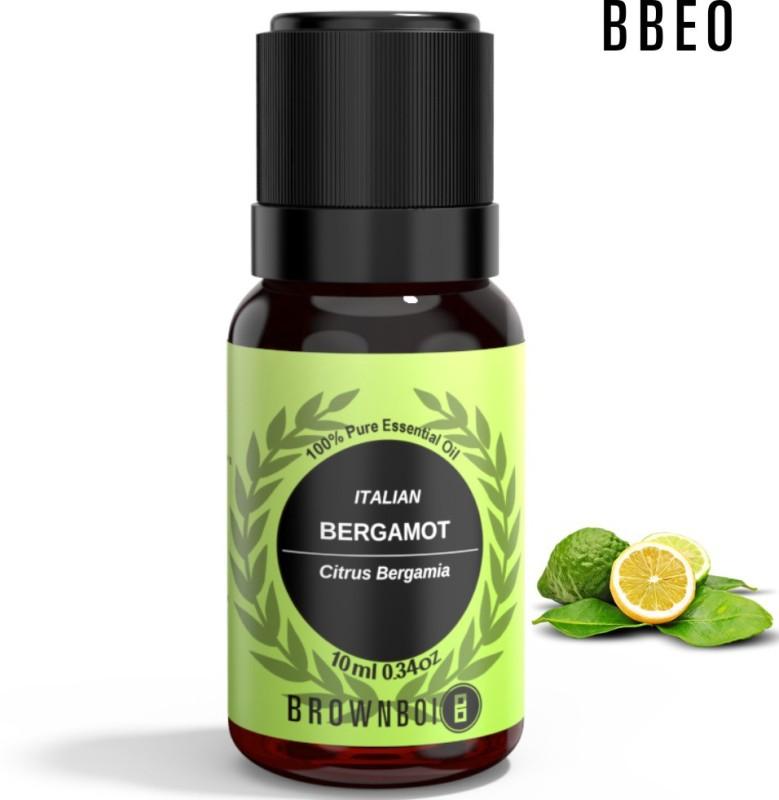 BrownBoi BBEO Italian Bergamot Essential Oil Aromatherapy & Therapeutic Grade(10 ml)