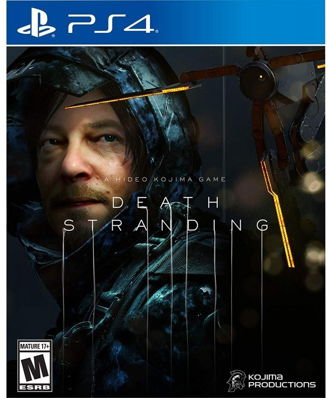 DEATH STRANDING PS4(Code in the Box - for PS4)