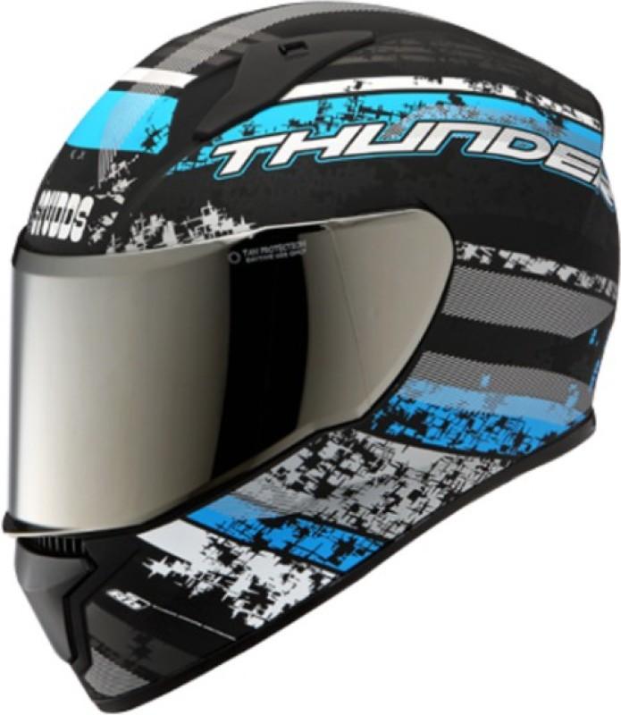 Studds Thunder D1 N1 M/R Motorbike Helmet(Matt Black)