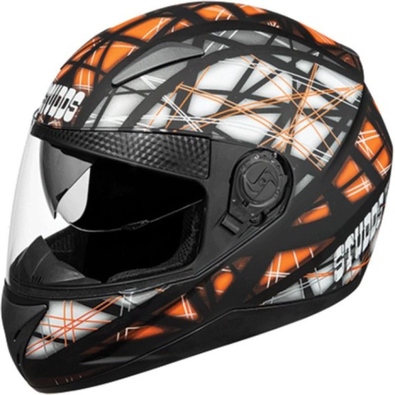 Studds Shifter D6 N10 Motorbike Helmet(Matt Black)