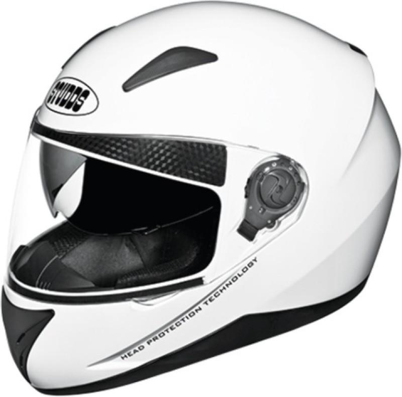 Studds Shifter Motorbike Helmet(White)