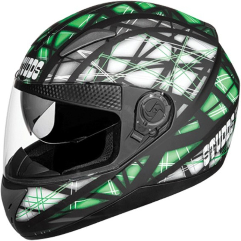 Studds Shifter D6 N3 Motorbike Helmet(Matt Black)