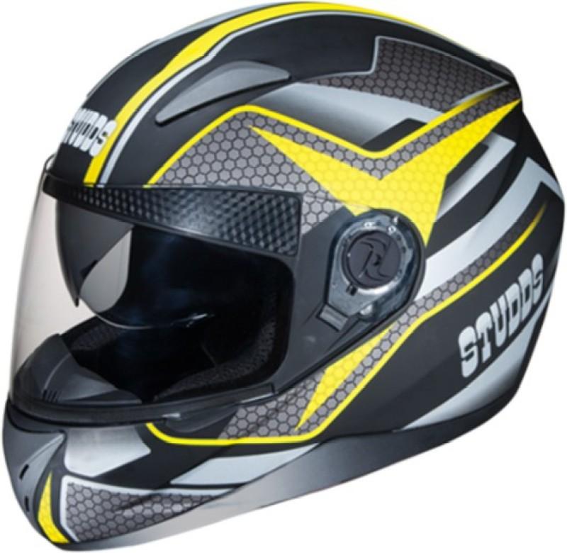 Studds Shifter D8 N5 Motorbike Helmet(Matt Black)