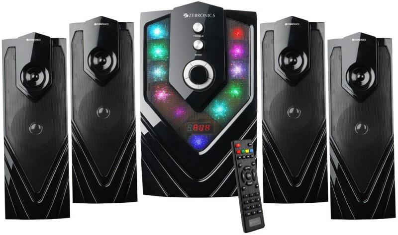 Zebronics ZEB - SAMBA Bluetooth Home Theatre(Black, 4.1 Channel)