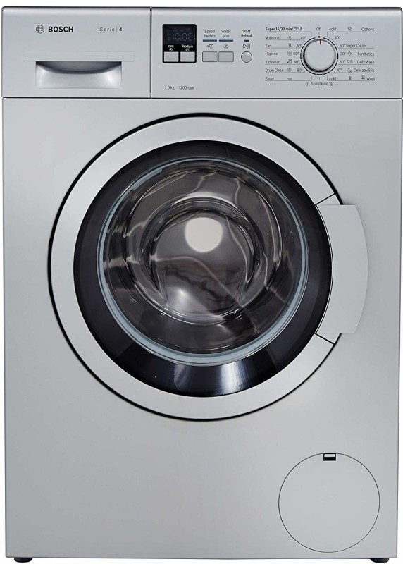 Bosch 7 kg Fully Automatic Front Load Silver(WAK24168IN)
