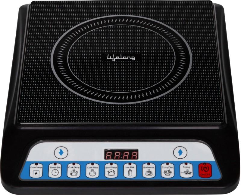 Lifelong LLIC12 Induction Cooktop(Black, Push Button)