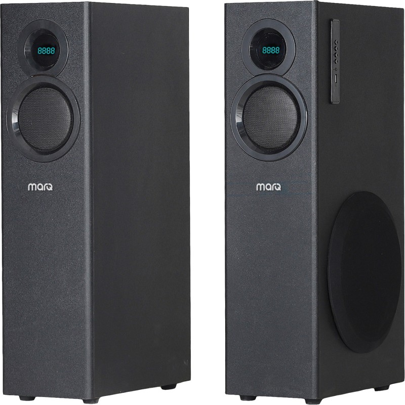 MarQ by Flipkart MA80WTM 80 W Bluetooth Tower Speaker(Black, 2.0 Channel)