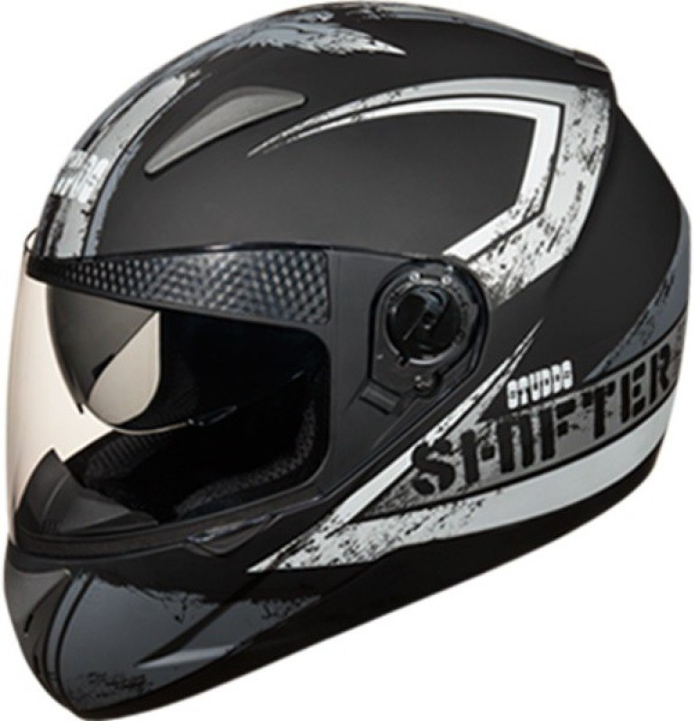 Studds Shifter D1 N4 Motorbike Helmet(Matt Black)