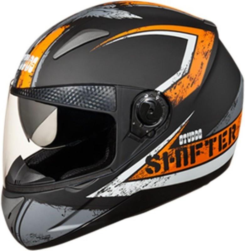 Studds Shifter D1 N10 Motorbike Helmet(Matt Black)