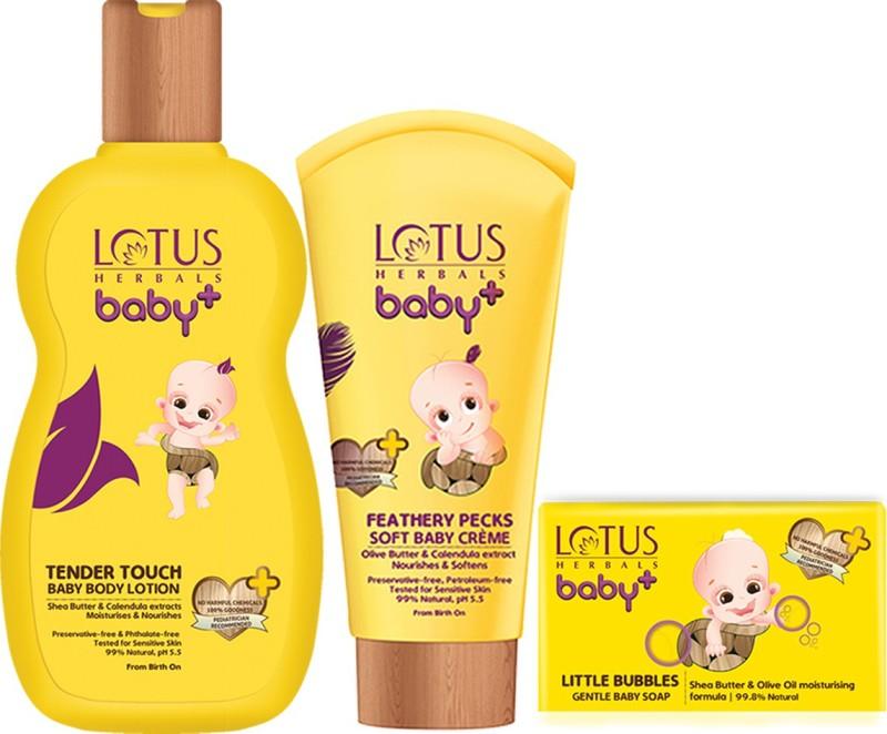 Lotus Herbals Baby+ Combo Pack(Yellow)