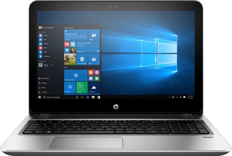 HP G4 APU Dual Core A9 7th Gen - (4 GB/500 GB HDD/Windows 10 Home) 455 G4 Laptop(15.6 inch, Silver)