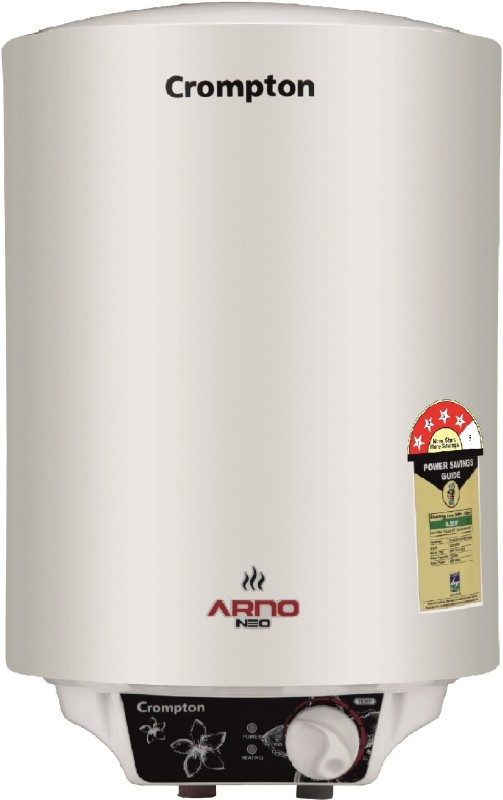 Crompton 10 L Storage Water Geyser (Arno Neo, White)