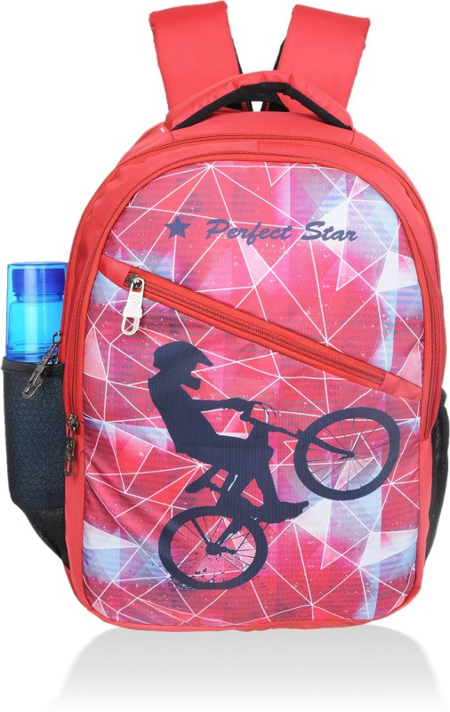 PERFECT STAR 15.6 inch Laptop Backpack(Red)