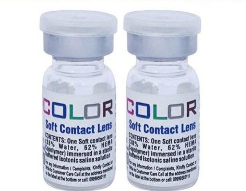 Sharrypappu Yearly Disposable(-4.75, Colored Contact Lenses, Pack of 2)
