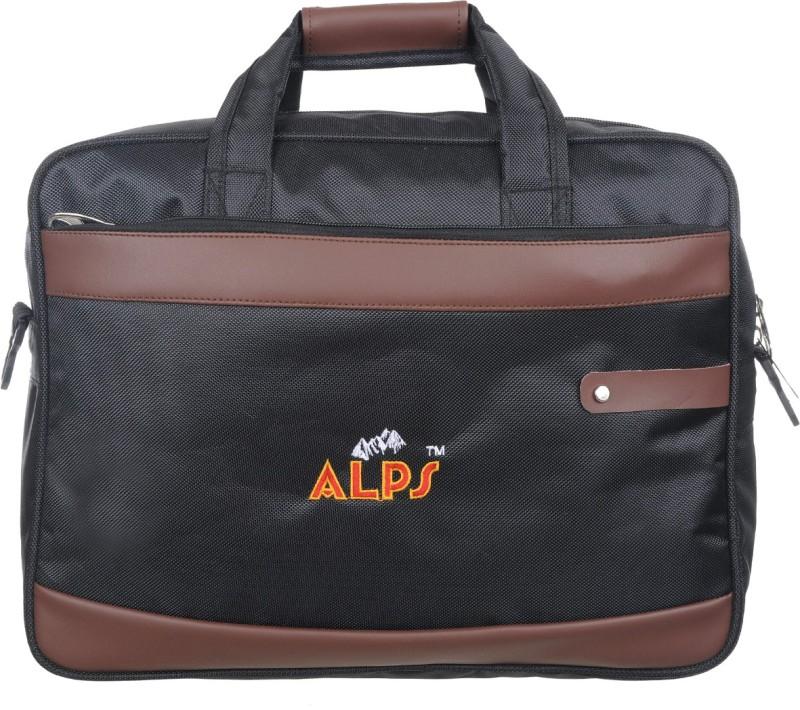 Alps Men Brown, Black Messenger Bag