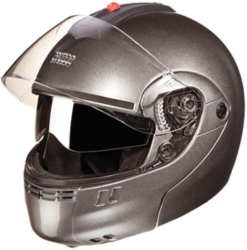 Studds Ninja 3G D/V Motorbike Helmet(Gun Grey)