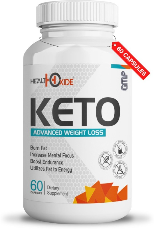 HEALTHOXIDE Fat Burner Weight loss supplements with all natural ingredients(60 No)