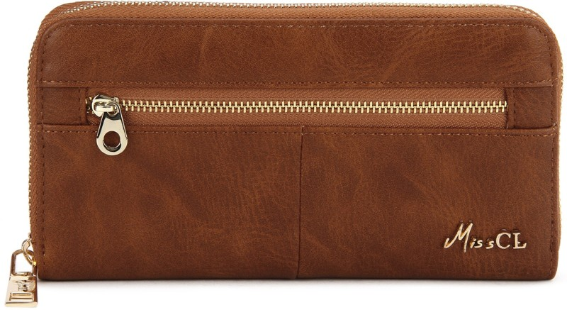 Miss CL Casual Brown  Clutch