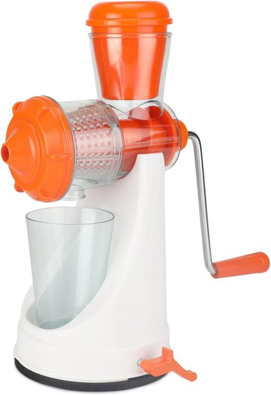 Amiraj Plastic Hand Juicer(Orange Pack of 1)