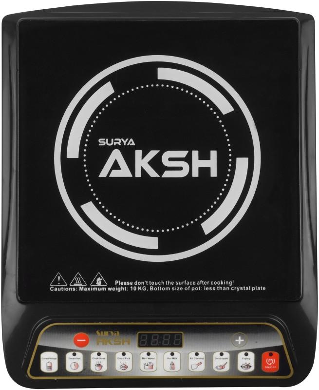 Surya Aksh GCP Induction Cooktop(Black, Push Button)