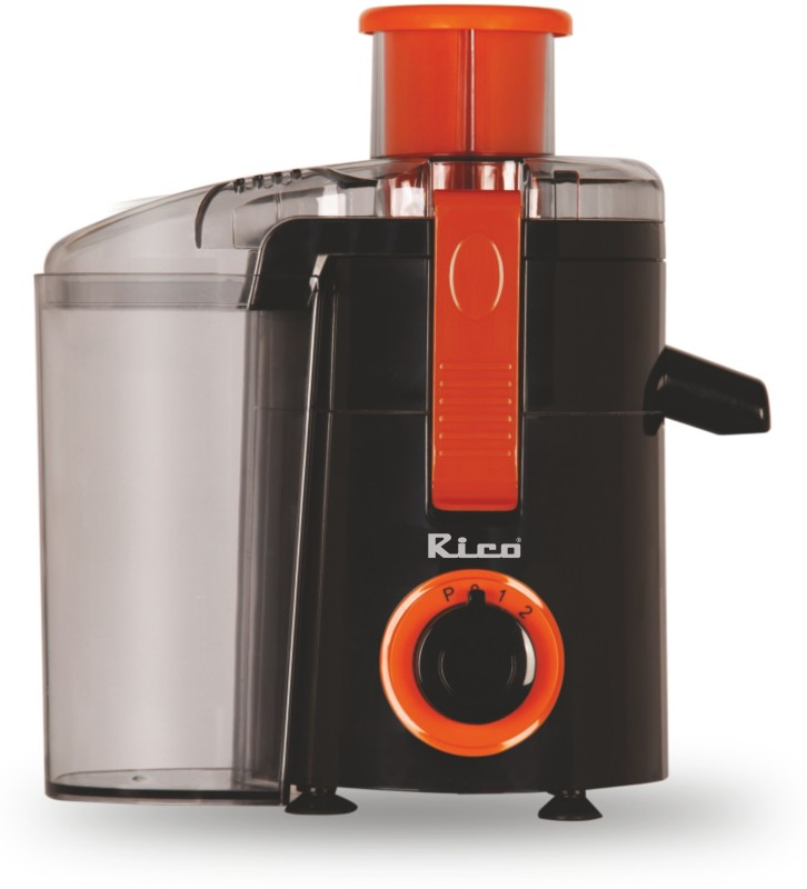 Rico Quick Juice Japanese Technology Electric Juicer 400 Juicer(Orange)