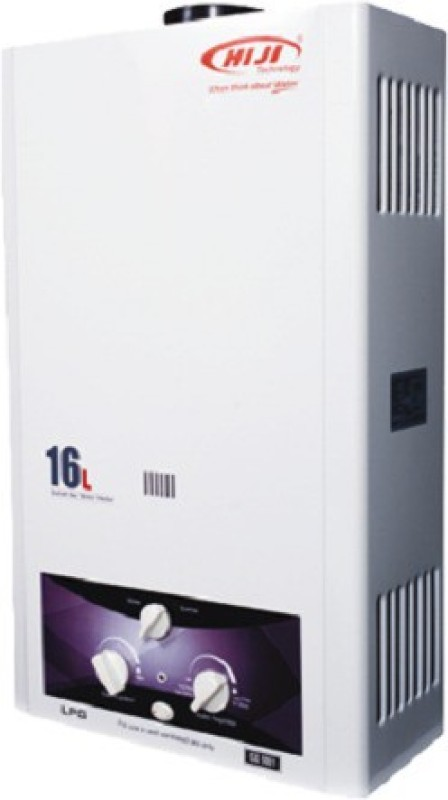 HIJI TECHNOLOGY 16 L Gas Water Geyser (HIJI Instant Gas Water Heater, White)